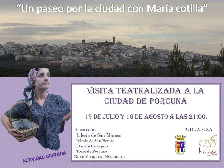 Visita teatralizada a la ciudad de Porcuna